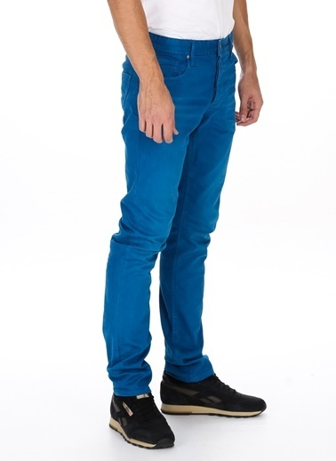 Jack & Jones Klasik Pantolon Mavi